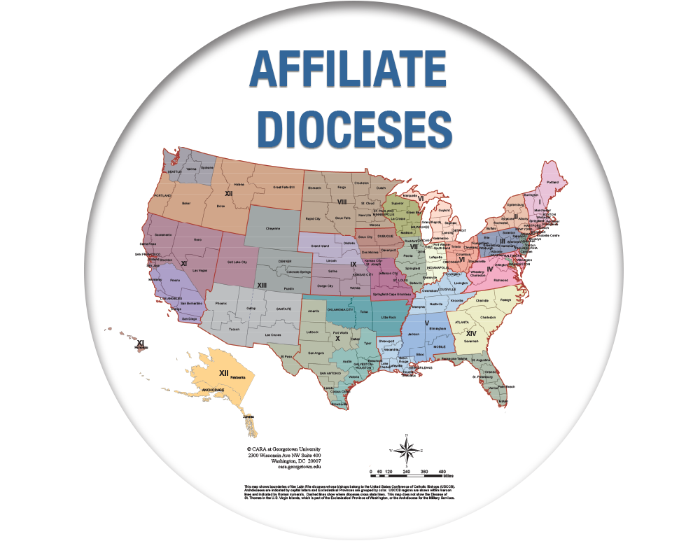 Affiliate Dioceses.