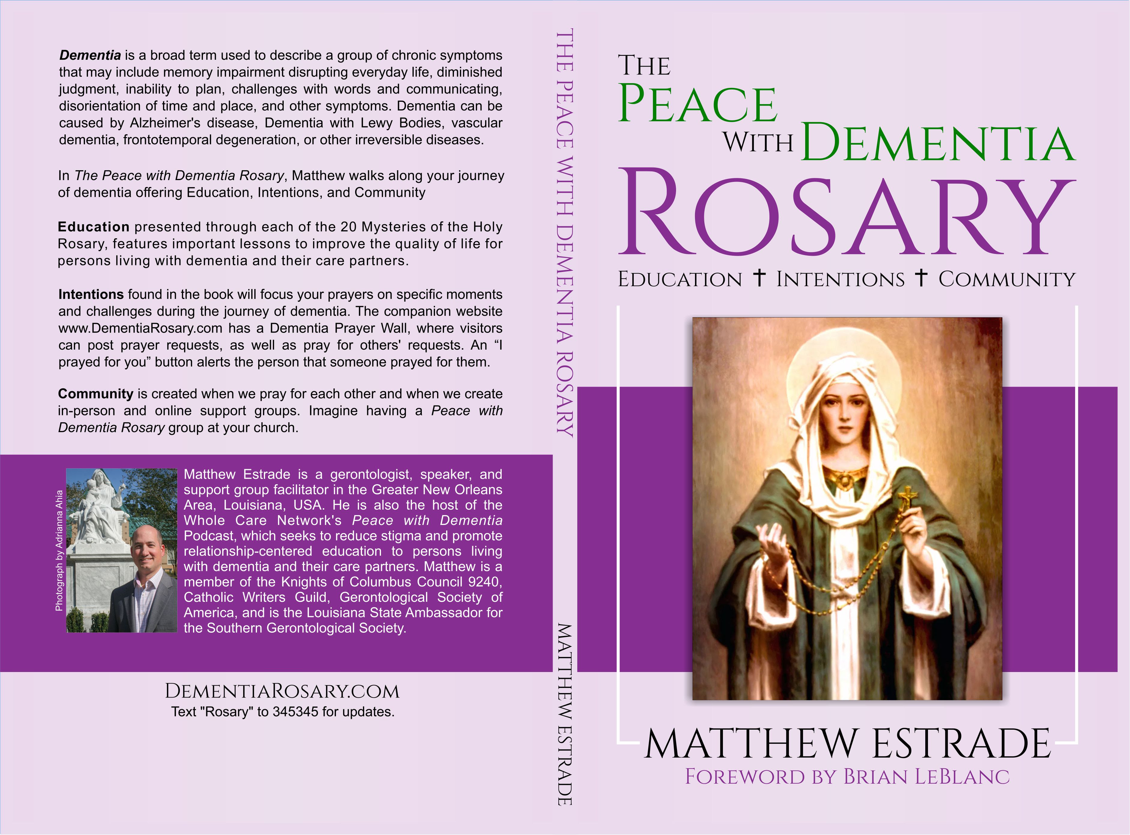 The Peace with Dementia Rosary book