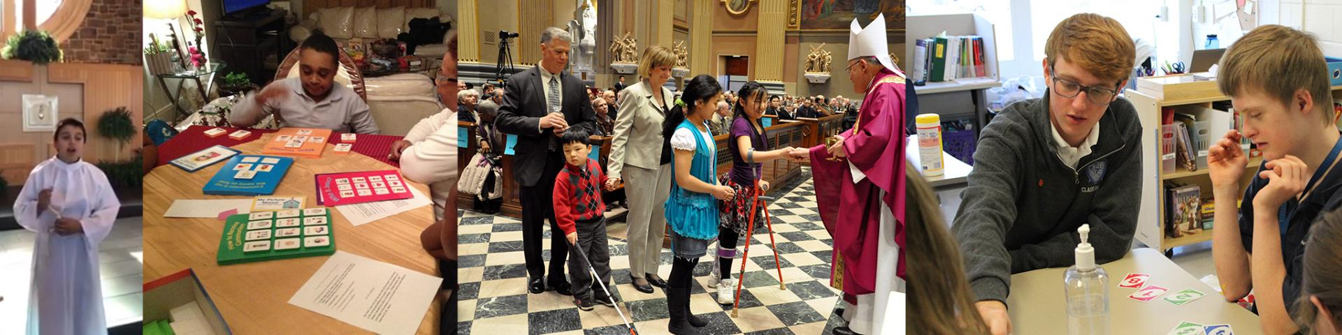 Persons with disabilities participating in the sacraments