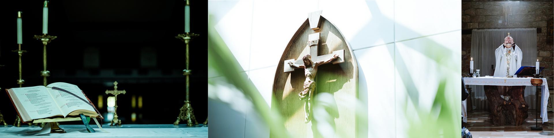 Cross, Roman Missal, priest