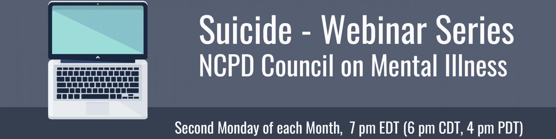 Suicide - Webinar Series