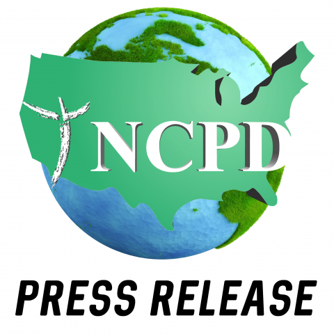 """NCPD Logo with text """"Press Release"""" underneath"""