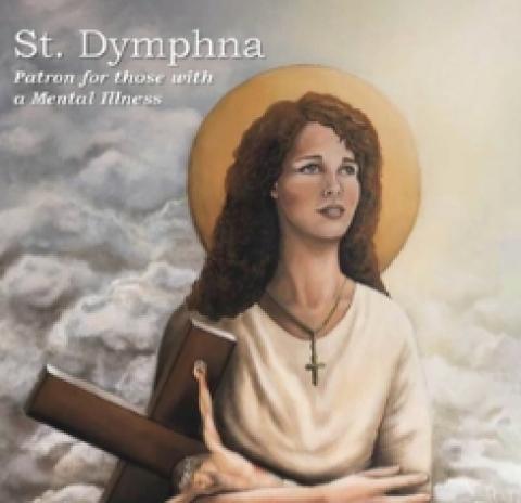Saint Dymphna and Sant John of God