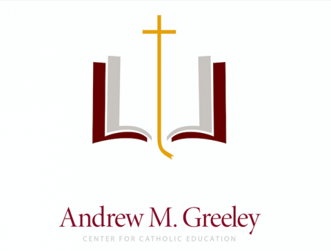 Andrew M. Greeley for Catholic Education logo