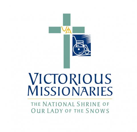 Logo: Victorious Missionaries: The National Shrine of Our Lady of the Snows