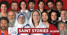 15 Deaf actors dressed up as saints