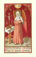 Saint Christina the Astonishing