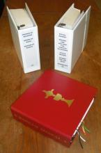 Photo of Large-print Roman Missal, Third Edition.
